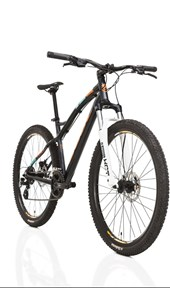 "Bike Soul Roots Aro 27,5"" 2017 Grafite Laranja e Verde"