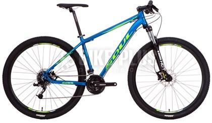 "Bike Soul SL 129 Aro 29"" 2017 Azul e Amarela"