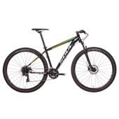 """Bike Soul SL 129 Aro 29"""" Tourney 24V Suspensão com Trava 2020 Preta"""