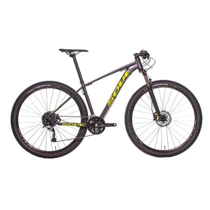 Bike Soul SL 229 Aro 29 Acera 27V 2020 Grafite e Amarela