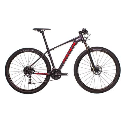 Bike Soul SL 229 Aro 29 Acera 27V 2020 Grafite e Vermelha