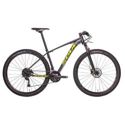 Bike Soul SL 229 Aro 29 Altus 27V 2020 Grafite e Amarela