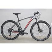 """Bike Soul SL 229 Aro 29"""" Altus 27V 2020 Grafite e Vermelha"""