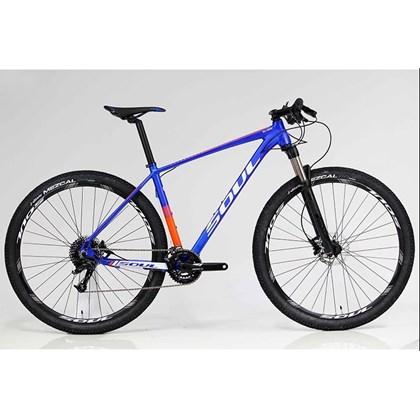 "Bike Soul SL 429 Aro 29"" 2018 Azul Laranja e Branca"