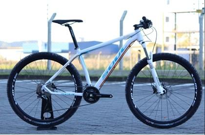"Bike Soul SL 927 Aro 27,5"" 2017 Branca Laranja e Azul"