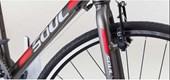 """Bike Soul ST001 Aro 700"""" Grafite e Vermelha"""