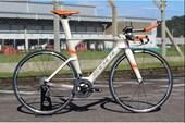 Bike Soul TTR1 Force Carbon Grafite e Laranja