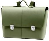 Bolsa Brooks Eton Leather Satchel Verde Oliva