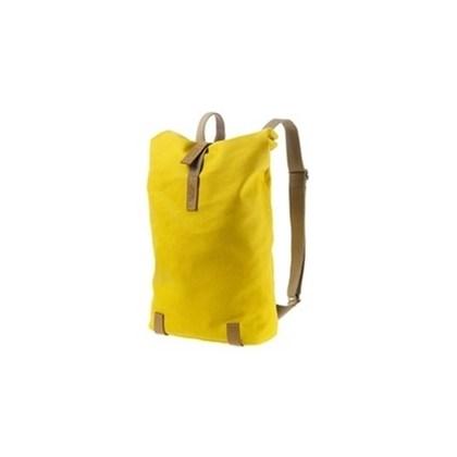 Bolsa Brooks Pickwick Backpack Pequena Amarela