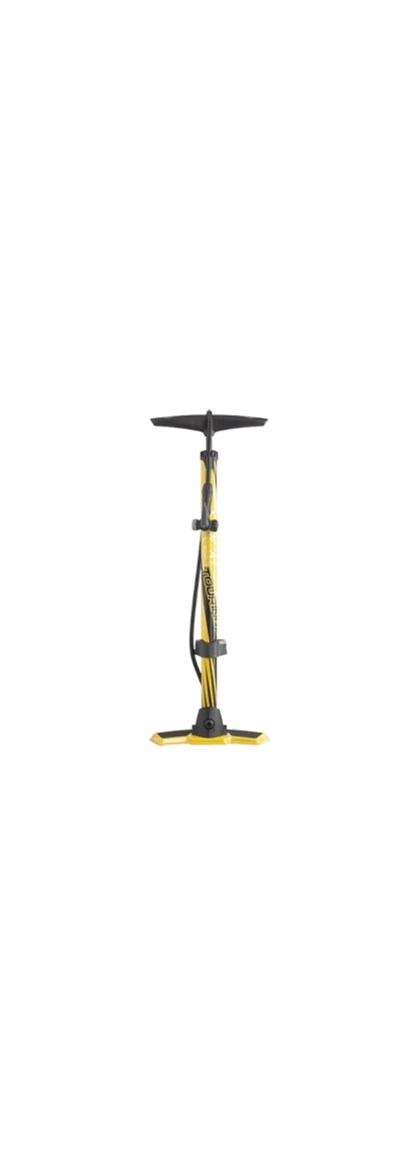 Bomba de Ar Shimano PRO Floorpump Touring Amarela