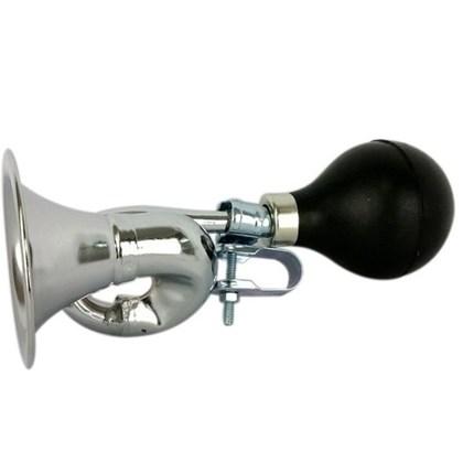 Buzina Trombone para Bike Cromada