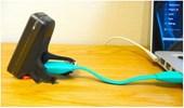 Cabo Extensor USB para Recarga Luz Knog