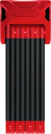 Cadeado para Bike Abus Bordo Big 6000A 120cm Vermelho e Preto