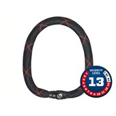 Cadeado para Bike Abus Steel-o-Chain IVY Chain 9100 85cm Preto