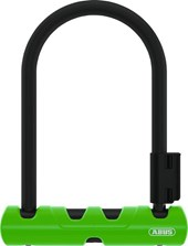 Cadeado para Bike Abus U-Lock Ultra Mini Nível 8 Verde + Cabo
