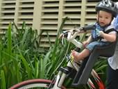 Cadeirinha para Bicicleta Dianteira Kalf Baby Bike Preta