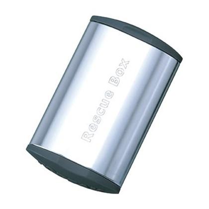 Caixa de Remendo Topeak Rescue Box TRB01 Prata