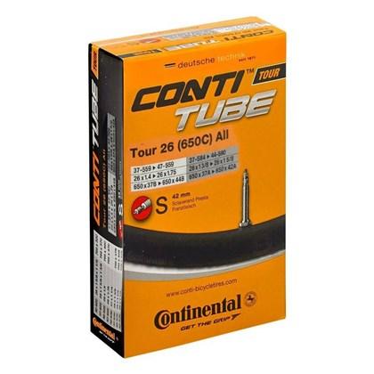 Câmara de ar Bike Continental Tour MTB Aro 26/1.75 Bico Fino S42