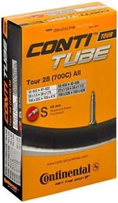 Câmara de ar Continental Tour CycloCross Aro 700 X 28/37 Bike Fino S42