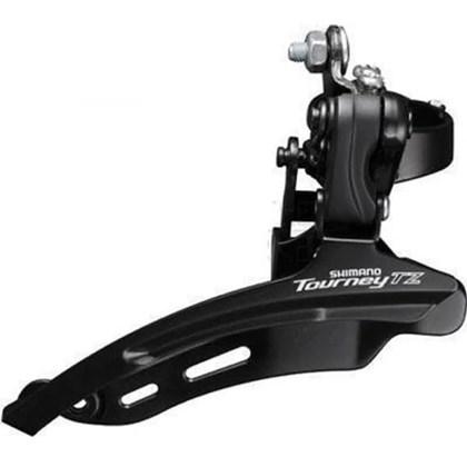 Câmbio Dianteiro Shimano Tourney FD-TZ500 3 x 6 ou 7v 31.8mm Cabo por Baixo