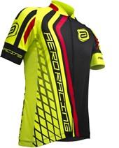 Camisa Ciclismo ASW Active Stageone Preta e Neon