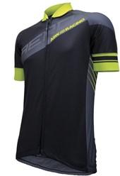 Camisa Ciclismo ASW Active Vapor 2017 Preta e Neon
