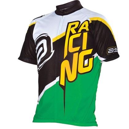 Camisa Ciclismo Asw Fun Force Verde