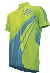 Camisa Ciclismo ASW Fun Way 2017 Neon