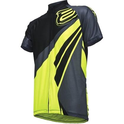 Camisa Ciclismo ASW Fun Way 2017 Preta e Neon