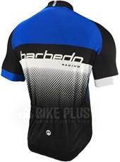 Camisa Ciclismo Barbedo Racing Preta e Azul