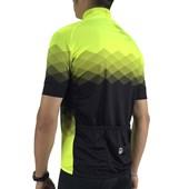 Camisa Ciclismo Barbedo Vision Preta e Neon