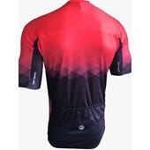 Camisa Ciclismo Barbedo Vision Preta e Vermelha