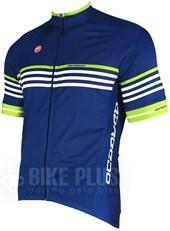 Camisa Ciclismo Barbedo Vuelta Azul