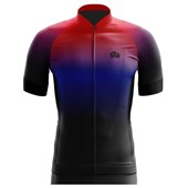 Camisa Ciclismo Bike Wear Evoc Degrade Vermelha