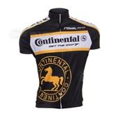 Camisa Ciclismo Continental Fizik Preta