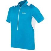 Camisa Ciclismo Curtlo Speed II Azul Turquesa