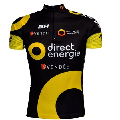 Camisa Ciclismo ERT Equipe Direct Energie