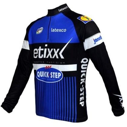 Camisa Ciclismo Ert Equipe Etixx Manga Longa - Bike Plus cb35db8837555