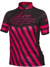 Camisa Ciclismo Feminina Asw Active Legacy Preta Pink