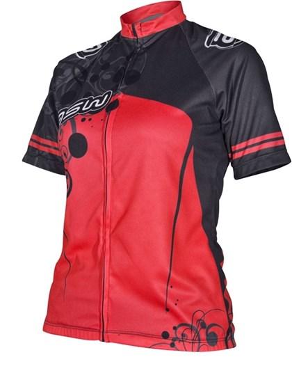 Camisa Ciclismo Feminina Asw Active Vermelha