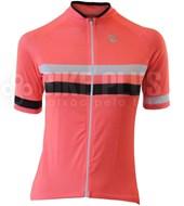 Camisa Ciclismo Feminina Barbedo Giro Salmão