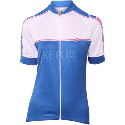Camisa Ciclismo Feminina Barbedo Marbella Blue