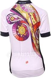 Camisa Ciclismo Feminina Barbedo Mohave Branca