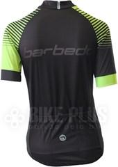 Camisa Ciclismo Feminina Barbedo Vesta Preta e Verde