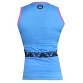 Camisa Ciclismo Feminina Ciclopp Tribus Azul
