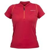 Camisa Ciclismo Feminina Curtlo Sprinter Vermelha