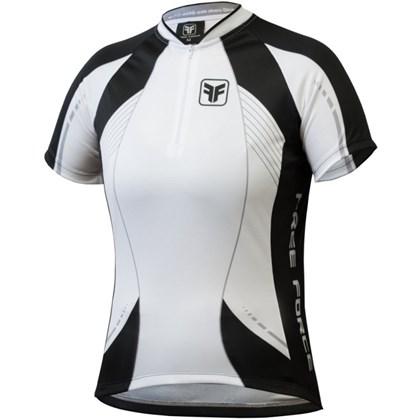 Camisa Ciclismo Feminina Free Force Aurora Branca