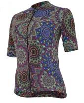 Camisa Ciclismo Feminina Marcio May Funny Mandala