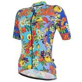 Camisa Ciclismo Feminina Marcio May Funny Salada de Fruta