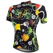 Camisa Ciclismo Feminina Marcio May Funny Tropical Bike